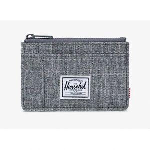 Herschel Supply Co. Oscar Wallet (Grey Crosshatch)
